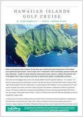 2017 Hawaiian Islands Golf Tour Brochure Thumbnail